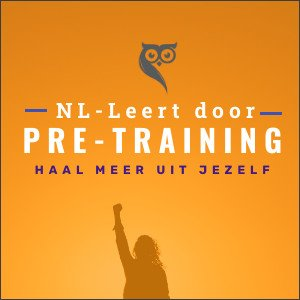 pre-training-NL leert door